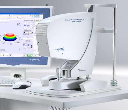 schwind ocular wavefront analyzer